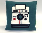 Instant Camera Pillow - Knit Cushion