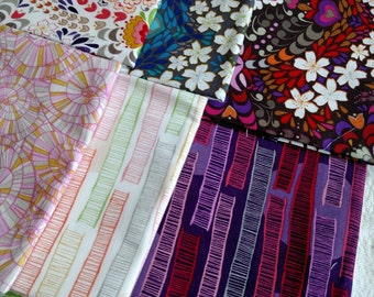 10 FQs Valori Wells Fabric DESTASH LOT F1028 Wish by Freespirit Fabrics, Quilting Cotton