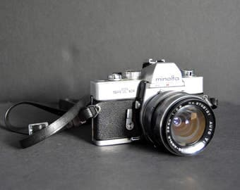 Minolta SRT101 with Vivitar Extra Lens