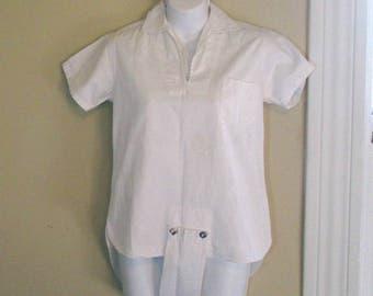 Vintage 40s Romper Gym suit Vintage Sportswear Tom Broderick athletic togs 40s vintage Bodysuit vintage gymsuit 30s summer Sunsuit S/M