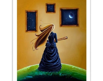 Dreamer Series Limited Edition - The Astronomer - Signed 8x10 Semi Gloss Print (3/10)