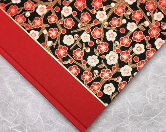 Red Journal or Sketchbook -  Perfect for Notebook, Diary or Writing Book with lined or blank pages