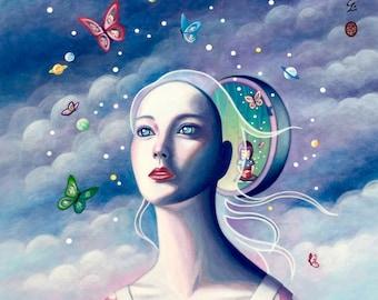 Secret World - Limited Edition Giglee fine art print