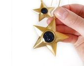 Constellation Ornament, Vintage Star, Zodiac, Christmas Ornament, Astronomy, Personalized, Gift under 20, Secret Santa, Stocking Stuffer