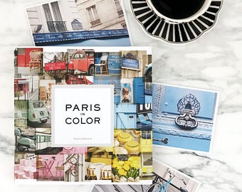 Paris in Color by Nichole Robertson, Paris Photography Gift for Her