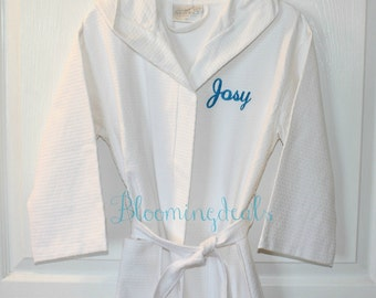 Personalized Bath Robes for Kids