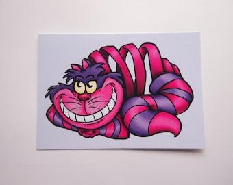 Cheshire Cat - Alice in Wonderland - Postcard