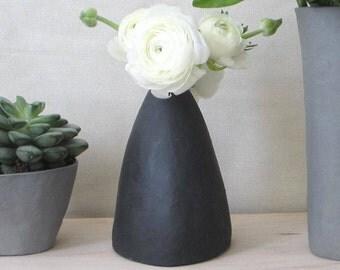 Black Bud Vase FREE SHIPPING