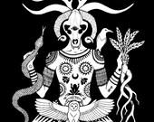 Lord of the Wildwood Art Print