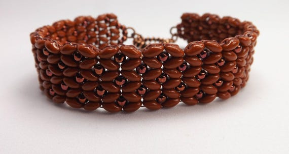 Beaded Scallop Edge Bracelet Sku: BR1028
