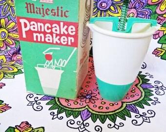 Late 1950's Majestic Donut / Pancake Maker. Late 1950's. Vintage kitchen. Retro/Vintage kitchen. Cake making. Vintage kitchen. Original box
