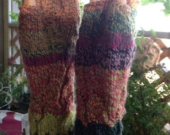 Annie's Wool Fingerless Gloves