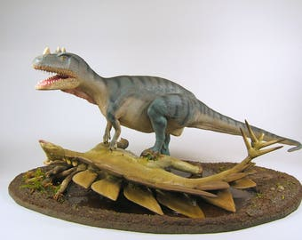 Dinosaur Clay Sculpture