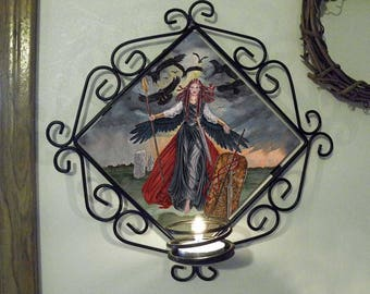 The Morrigan Wall Candle Sconce