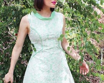 Green Retro Mod Dress - Only 3 made!