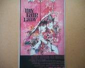 Magnet My Fair Lady movie poster magnet Hepburn Rex Harrison