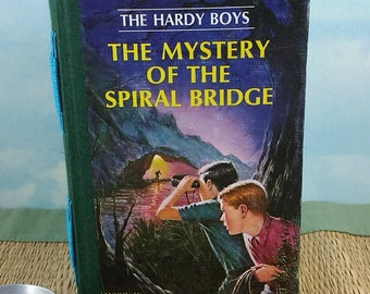 Hardy Boys Writing Journal from The Mystery of the Spiral Bridge Classic Teen Hardcover