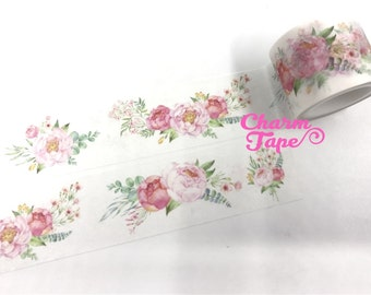 Peony flower Washi Tape 30mm x 5m WT1033