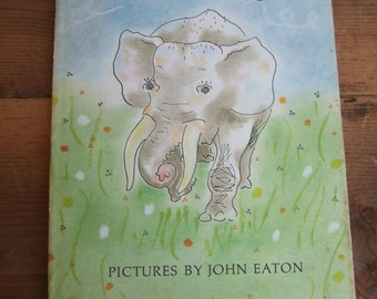 Fairy Tales by E. E. Cummings with Pictures by John Eaton 1965 Hardcover