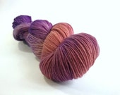 Tainted Love hand dyed Blue Faced Leicester fingering/4ply/sock yarn