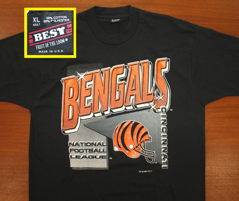 Black t shirt xl - Details Cincinnati Bengals Vintage T Shirt Xl Black
