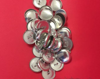 Set of 25 WHOLESALE 7/8 Inch Covered Buttons Set with Push Tool