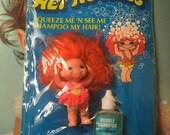 Vintage 1969 Wet Noodles Doll On Card