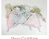 Pacy Cuddlers! Pacifier Holders Made for Cuddling