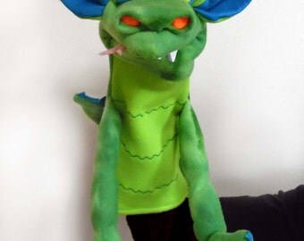 Drools Dragon Special Edition Hand Puppet or Ventriloquist Pupppet