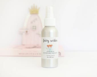 Fairy Wishes - Natural Aromatherapy Sleep Spray for Children, Pillow Spray, Sweet Dreams Room Mist, Made with Pure Essential Oils