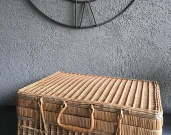 Bamboo suitcase   Etsy