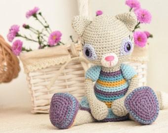 PATTERN - Hilda the Ragamuffin - crochet pattern, amigurumi pattern, PDF