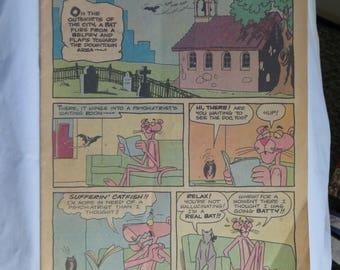 Vintage Pink Panther Comic Book - Batty Pink, No. 61, February 1979, Pink Panther, Vintage, Comic