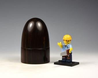Ceylon Ebony wooden box, woodturning, gift,