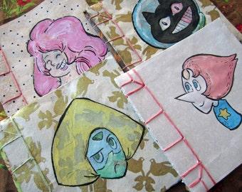 Geek notebooks Steven Universe (small)-Handmade Books
