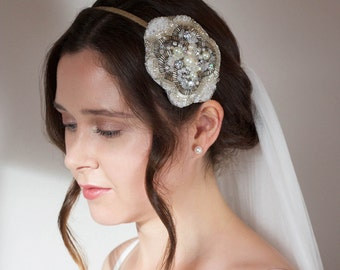 Daisy Bridal Hair Band