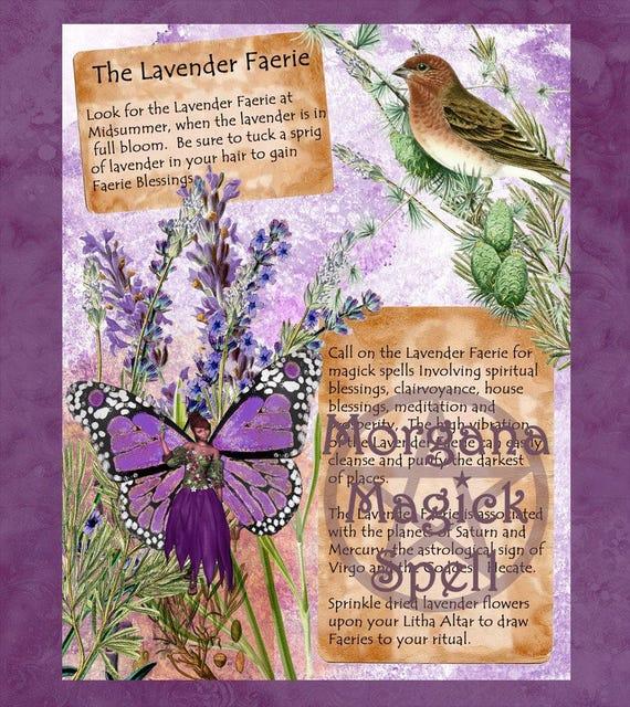 The Lavender Faerie