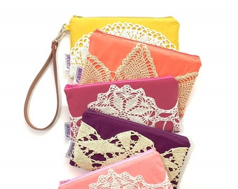 Women's Wristlet Wallet ~ Your Choice of Fabrics