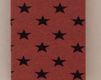 MELANGE STARS cotton elastane jersey