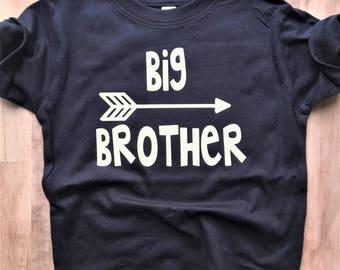 Big Brother Shirt, Big Sister Shirt, Little Brother onesie®, Little Sister onesie® // gender reveal, sibling shirts, pregnancy announcement