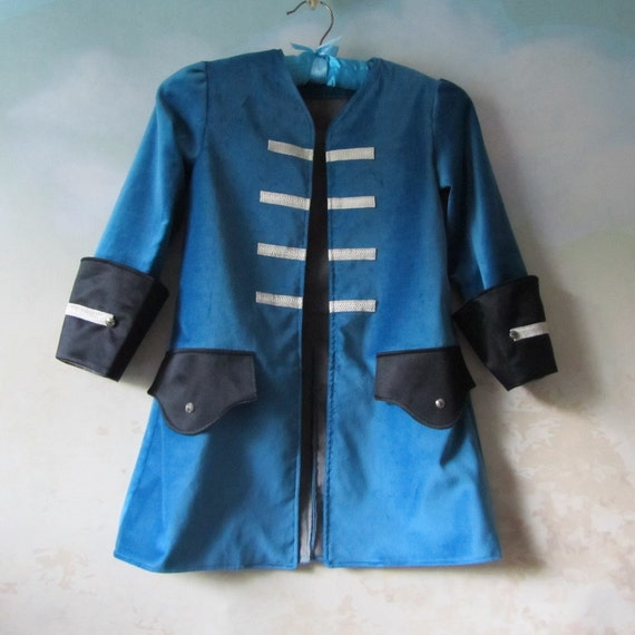 Child's Pirate Coat Steampunk