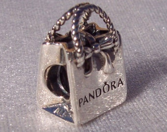 PANDORA Shopping Bag Charm FREE SHIPPING