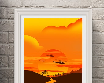 Apocalypse Now Movie Poster - Movie Poster, Movie Print, Film Poster, Film Print