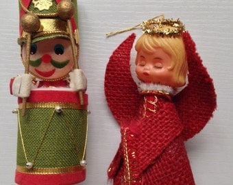 Charming Pair of Christmas Ornaments