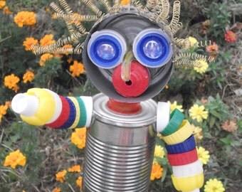 Plastic & Tin Scare-Man