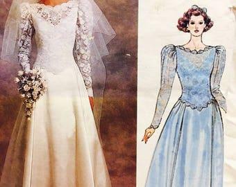Vogue Bridal Original 1519; ©1985