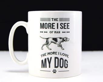 Funny Dog Coffee Mug, Statement Mug, Mugs, Funny Mug, Dog Lover Gift, Coffee Mug, Dog Quote, Black and White, Ceramic Mug, Funny Mugs