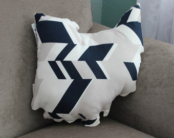 State of Ohio Accent Pillow