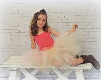 Tutu for Girls tulle skirt trending now flower girl tutu, flower girl tulle skirt birthday tutu special occasion sewn tutu skirt ivory