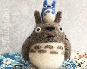 Big and Medium Totoros/ My Neighbor Totoro Studio Ghibli